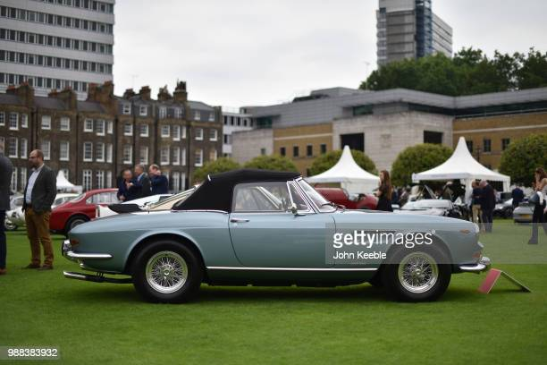 Ferrari 275 GTS on display at the London Concours at the Honourable Artillery Company on June 7 2018 in London England The event billed as the...