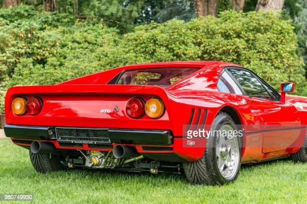 Ferrari 288 GTO 1980s supercar in Ferrari red