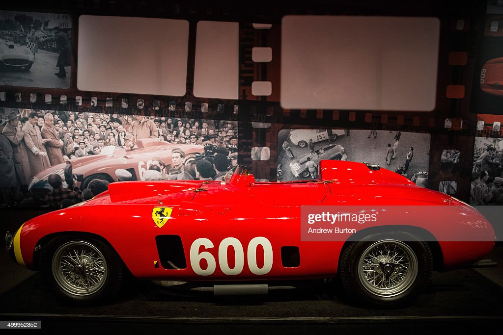 Sotheby's To Auction Custom-Designed Vintage Cars : News Photo