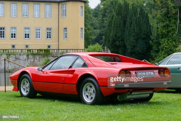Ferrari 308 GTB 1980s Italian sports car