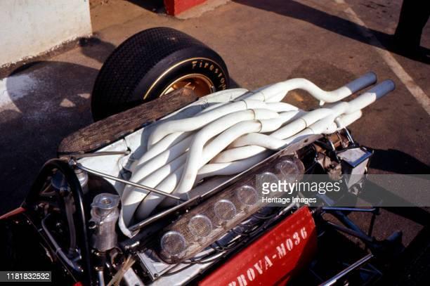 Ferrari 312 Formula 1 engine. Creator: Unknown.