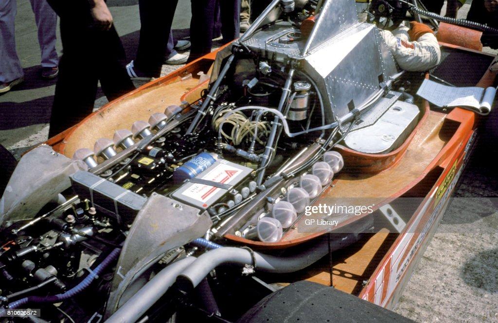 Ferrari 312T Motor. : News Photo