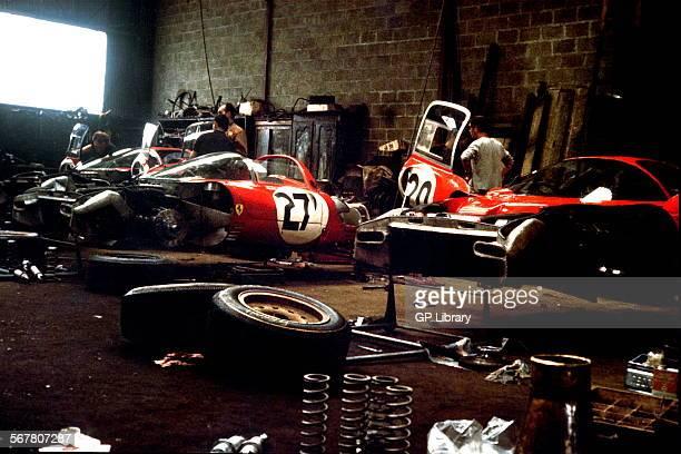Ferrari 330 P4 at Le Mans 1967
