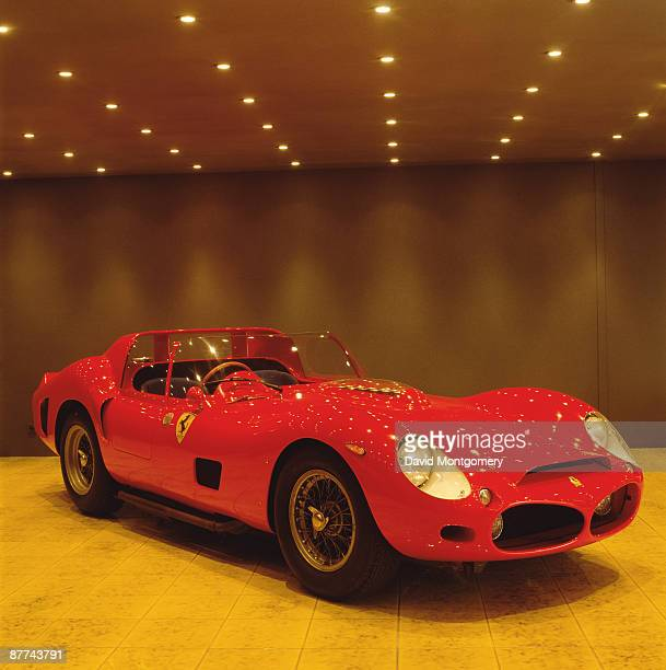 A 1962 Ferrari 330 TRI/LM in the collection of racetrack owner and Ferrari collector Pierre Bardinon France 24th May 1995 Photo by David...