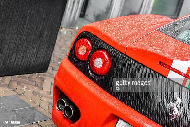 Ferrari 360 Modena desafio Stradale carro desportivo detalhe