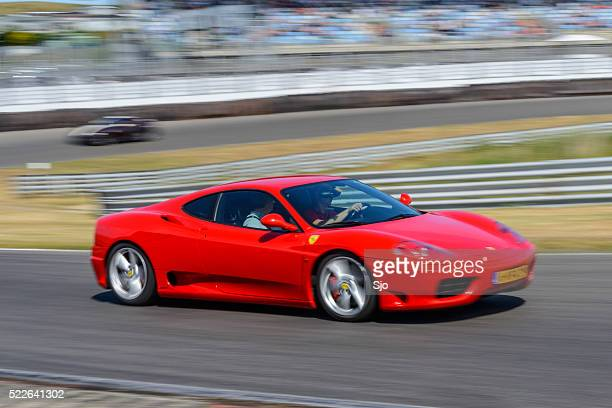ferrari 360 modena sports car - modena stock pictures, royalty-free photos & images