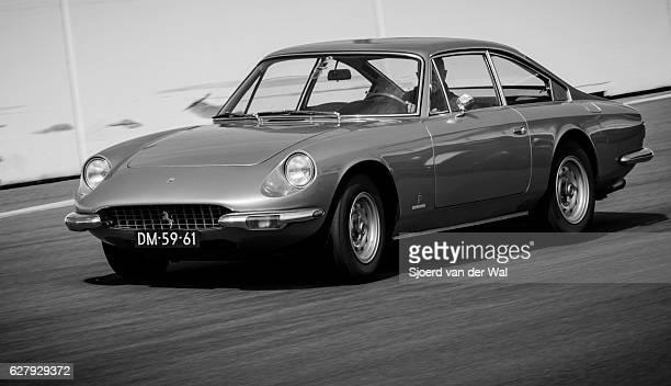 "ferrari 365 gt classic italian gran turismo sports car - ""sjoerd van der wal"" stock pictures, royalty-free photos & images"