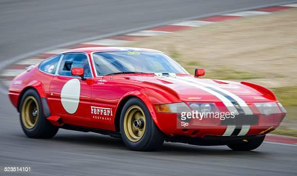 ferrari 365 gtb/4 competizione daytona classic race car - competizione stock photos and pictures
