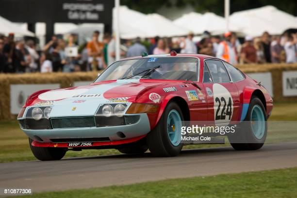 Ferrari 365 GTB/4 Daytona Competizione during the Goodwood festival of Speed at Goodwood on June 30th 2017 in Chichester England