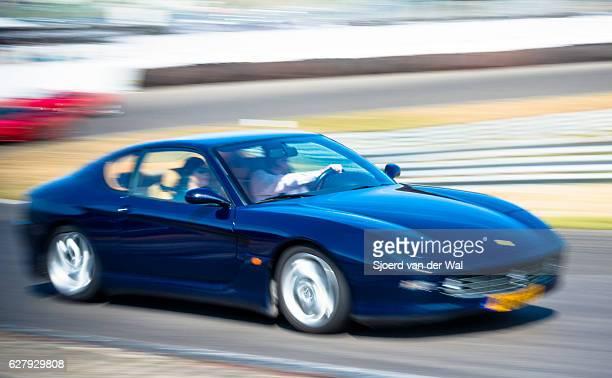 "ferrari 456 gt sports car - ""sjoerd van der wal"" stock pictures, royalty-free photos & images"