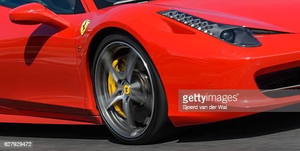 "ferrari 458 italia exclusivo v8 italiano deportivo detalle - ""sjoerd van der wal"" fotografías e imágenes de stock"