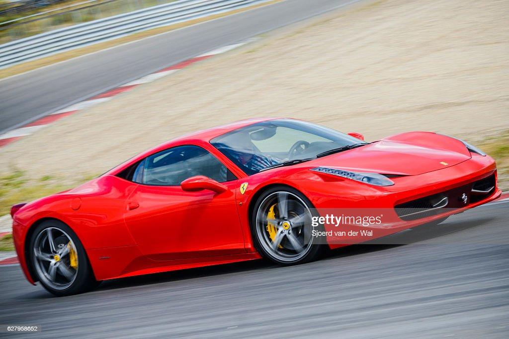 Ferrari 458 Italia exclusive V8 Italian sports car : Stock Photo