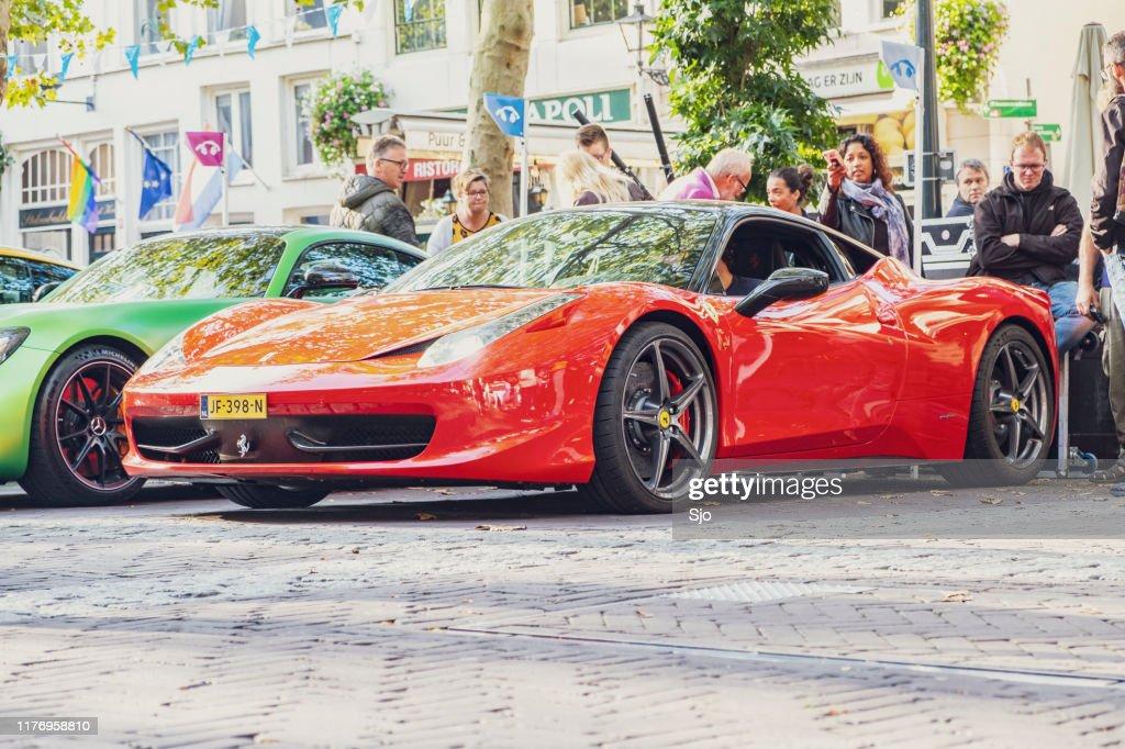 Ferrari 458 Italia carro esportivo : Foto de stock
