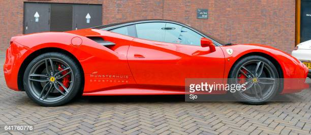 13 504 Red Ferrari Photos And Premium High Res Pictures Getty Images
