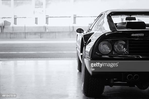Ferrari 512 BB in der Feuerstelle box