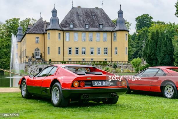 Ferrari 512 BB or Berlinetta Boxer and Ferrari 308 GTB