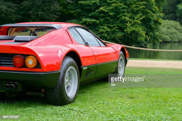 Ferrari 512 BB or Berlinetta Boxer Italian 1970s sports car