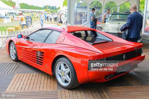 "ferrari 512 tr testarossa italian supercar - ""sjoerd van der wal"" stock pictures, royalty-free photos & images"