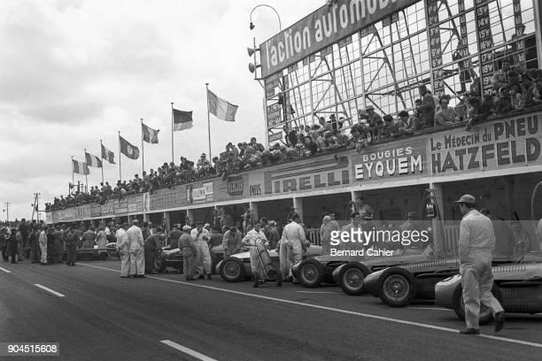 Ferrari 553 Grand Prix of France ReimsGueux 04 July 1954