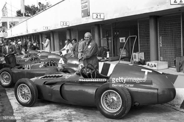 Ferrari 555, Ferrari Lancia D50, Grand Prix of Italy, Autodromo Nazionale Monza, 11 September 1955.