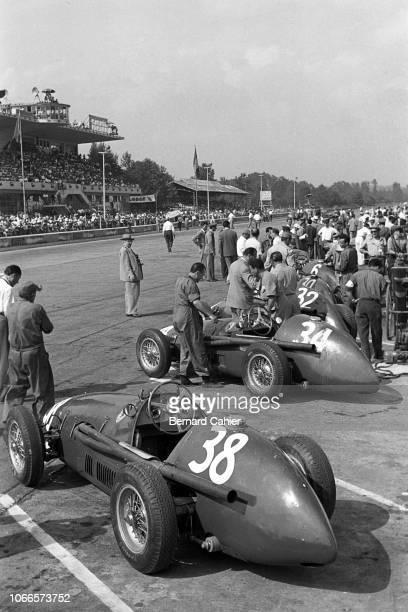 Ferrari 625, Grand Prix of Italy, Autodromo Nazionale Monza, 05 September 1954.