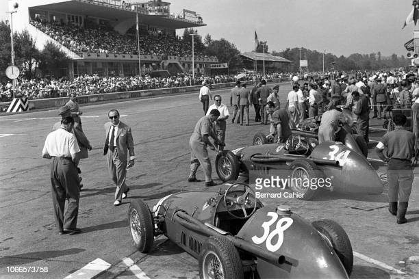 Ferrari 625, Grand Prix of Italy, Autodromo Nazionale Monza, 05 September 1954.