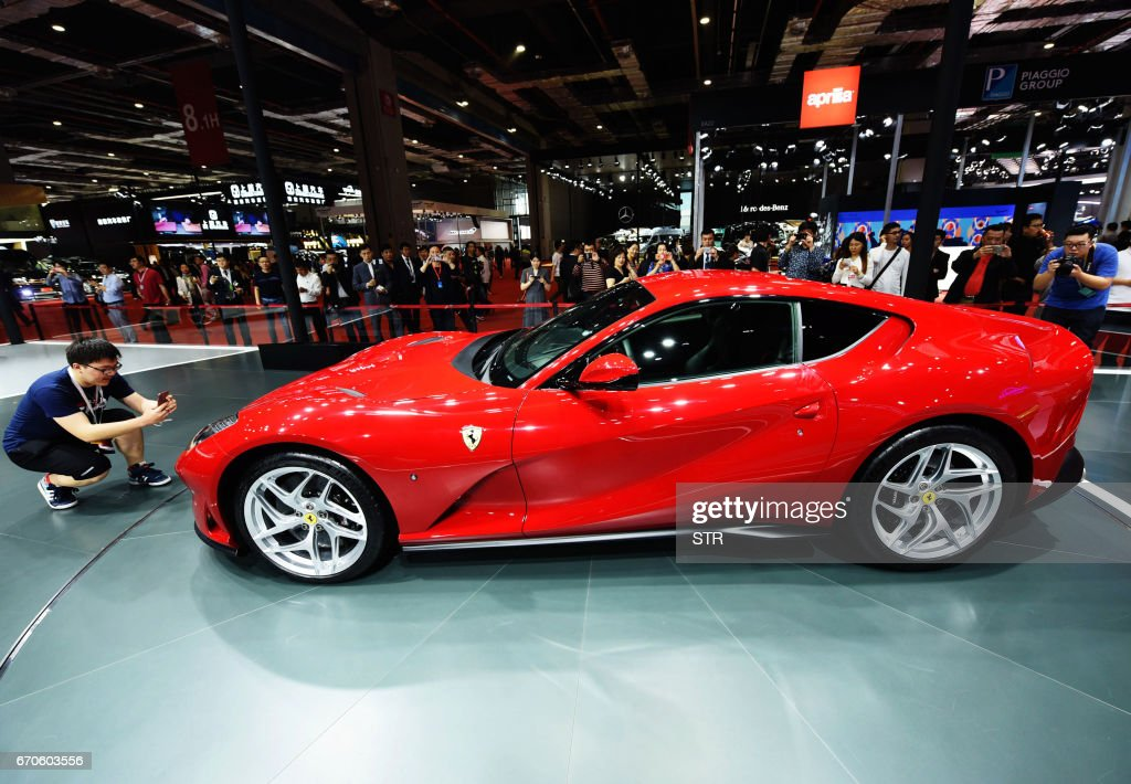 CHINA-ASIA-ECONOMY-AUTO-SHOW-AUTOMOBILE : News Photo