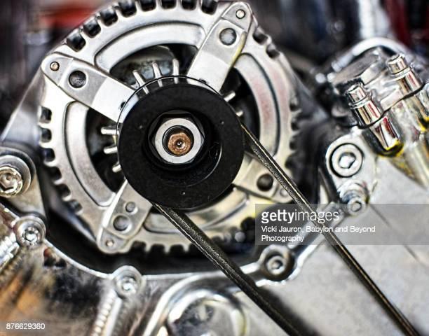 Ferrari Automobile Engine Art