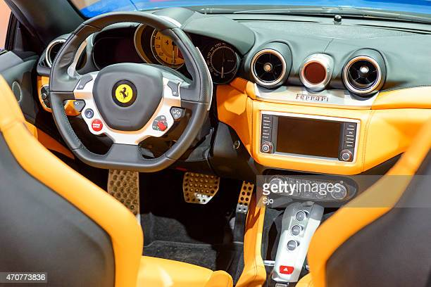 Ferrari California Interior Stock-Fotos und Bilder | Getty Images
