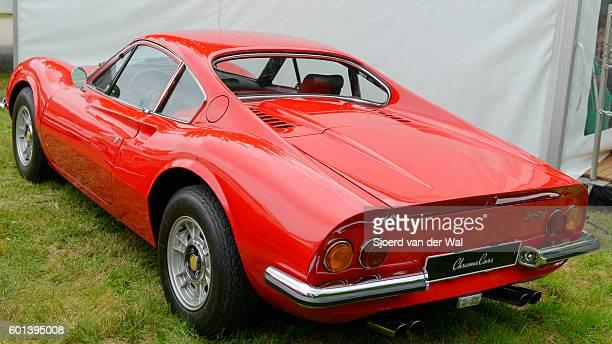 Ferrari Dino 246 GT Italian vintage sports car