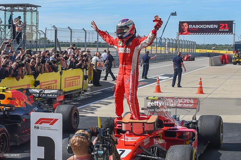 AUTO: OCT 21 F1 - United States Grand Prix : News Photo