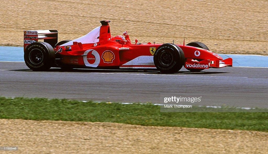 Ferrari driver Michael Schumacher : News Photo