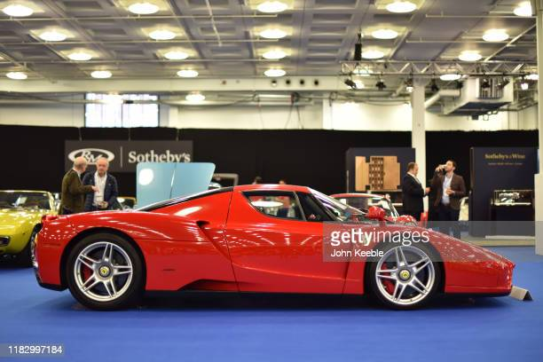 Ferrari Enzo £1000 £1000 on display during the RM Sotherb's London European car collectors event at Olympia London on October 23 2019 in London...
