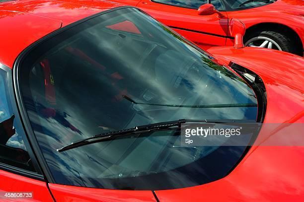 Enzo Ferrari parabrezza