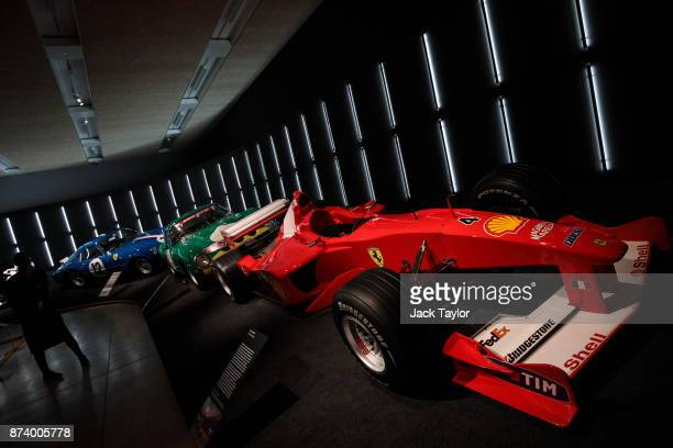 Ferrari F1 2000 on display at the 'Ferrari Under the Skin' exhibition at the Design Museum on November 14 2017 in London England £140M worth of...