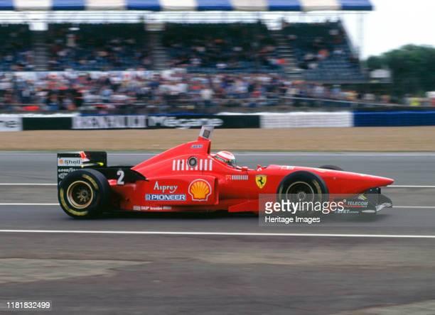 Ferrari F310, Eddie Irvine, 1996 British Grand Prix, Silverstone. Creator: Unknown.