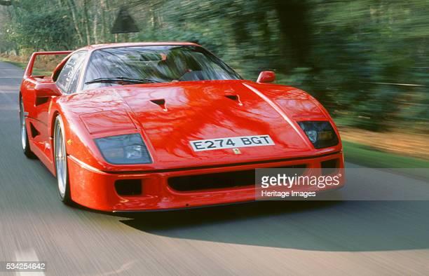 Ferrari F40 at speed 2000