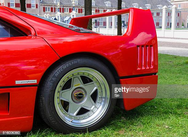 Ferrari F40 klassischen 80er Jahre italienischer Supercar