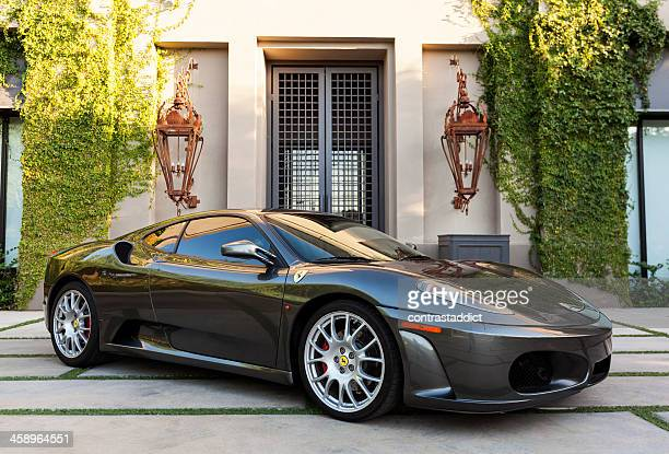 ferrari f430 - modena stock pictures, royalty-free photos & images