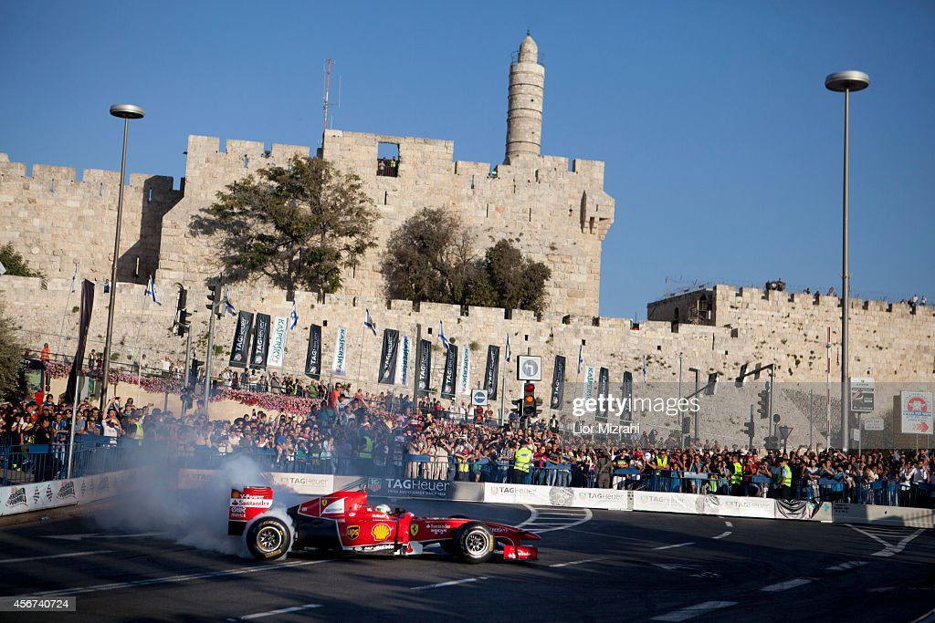 Jerusalem Formula Peace Road Show : ニュース写真