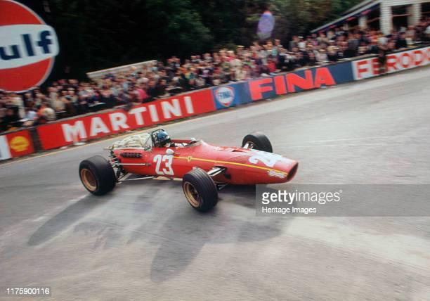 Ferrari Jacky Ickx 1968 Belgian Grand Prix