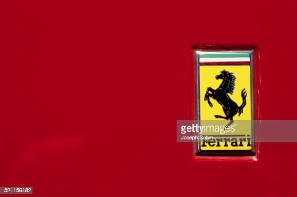ferrari logo - ferrari stock pictures, royalty-free photos & images