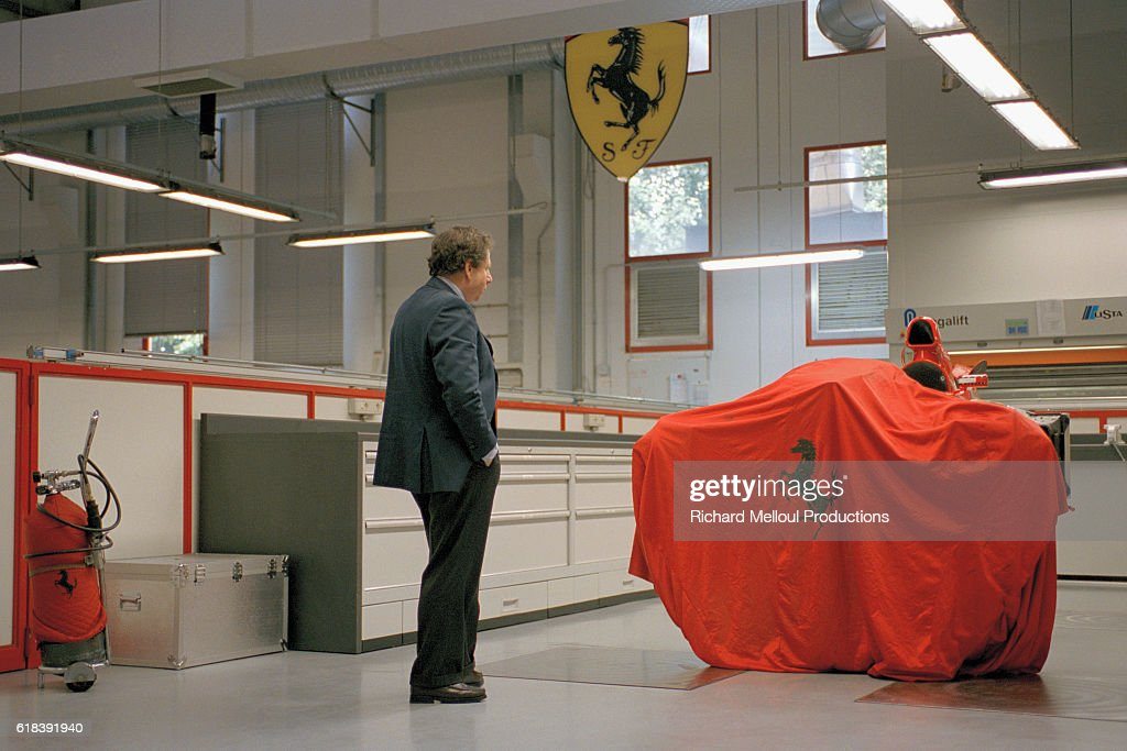 Jean Todt Behind the Scenes at Ferrari : Photo d'actualité