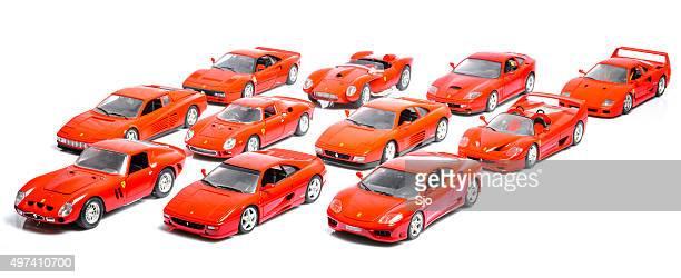 Ferrari model car collection