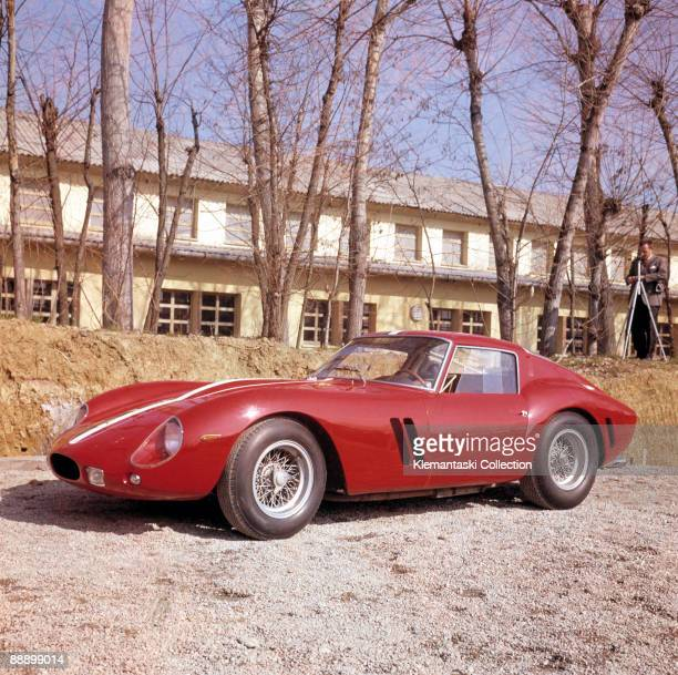 Ferrari Press Conference Maranello February 1962 The first 250GTO on display in the Factory courtyard There is some opinion that this car was built...