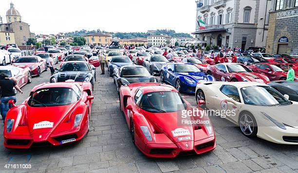 Ferrari rally in Florenz-Cavalcade 2013