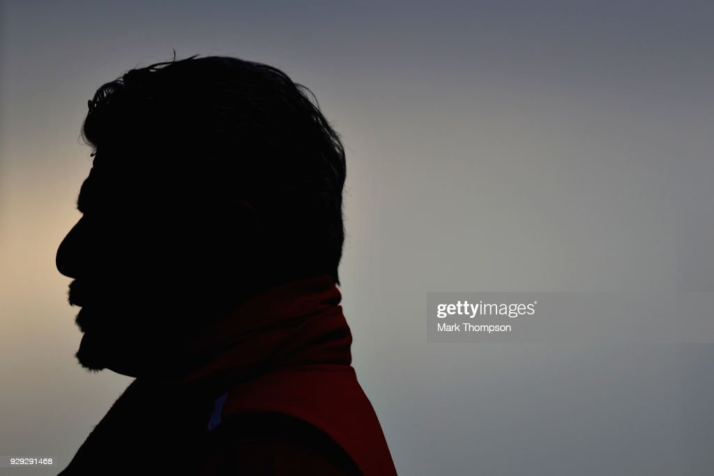 Ferrari Team Principal Maurizio Arrivabene looks on in the Pitlane during day three of F1 Winter Testing at Circuit de Catalunya on March 8, 2018 in Montmelo, Spain.