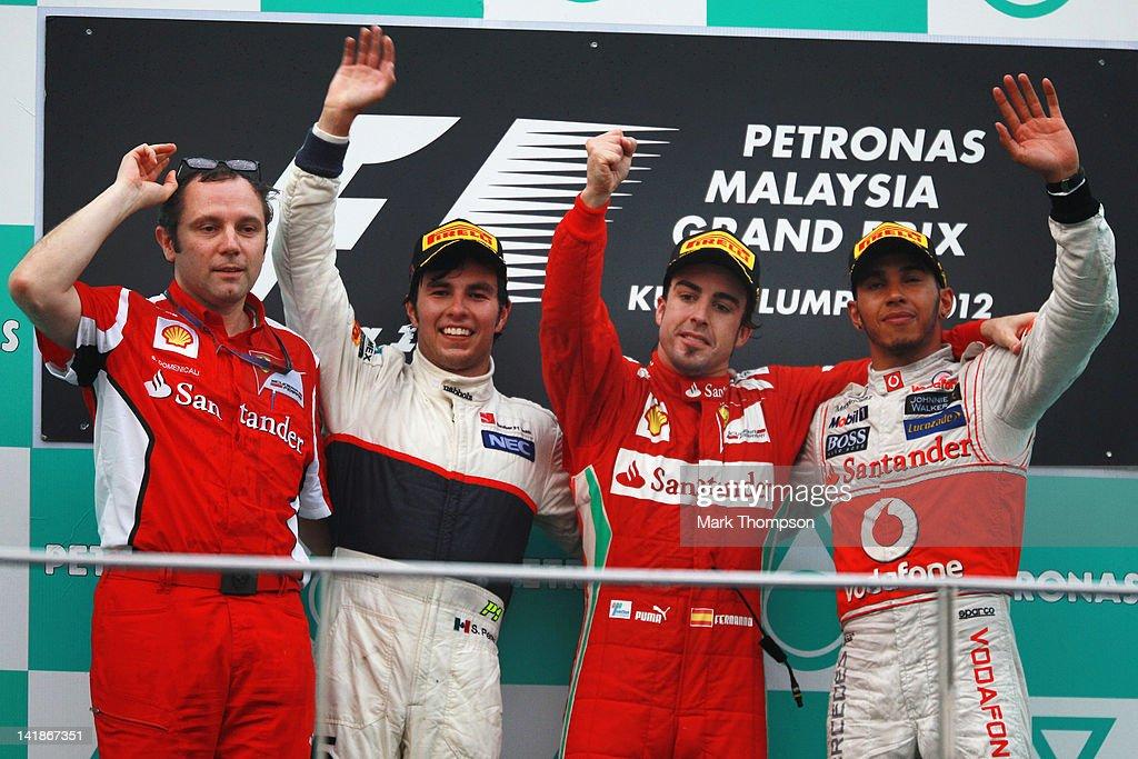 Malaysian F1 Grand Prix - Race : News Photo