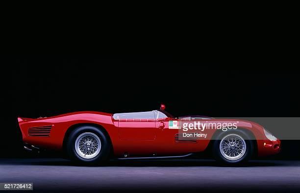 1961 ferrari testarossa - ferrari stock pictures, royalty-free photos & images