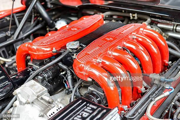 Ferrari Testarossa V12 motor